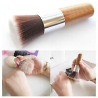 Flat Top Buffer Makeup Bamboo Cosmetic Foundation Powder Kabuki Blush Brush ONE