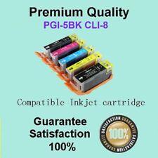 10 x PGI-5BK CLI-8 INK Cart Compatible for CANON PIXMA MP500 MP510 MP520 MP530