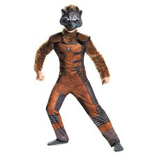 Boys Guardians Of The Galaxy Rocket Racoon Halloween Costume Medium 7-8 Ages 7+
