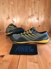 Merrell Men's Barefoot Trail Glove Smoke Adventure Yellow Running Shoes