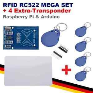 RFID-RC522 MEGA KIT +4   Mifare NFC Kartenleser Modul Reader Raspberry Pi Ard...