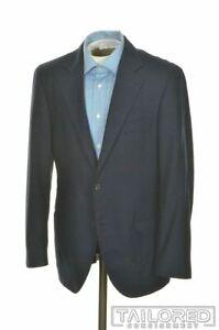 BRUNELLO CUCINELLI Blue Plaid Wool CASHMERE Blazer Sport Coat Jacket - 38 R