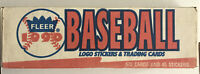 1990 Fleer Baseball Complete Box Set 672 Cards, 45 Stickers Factory Sealed