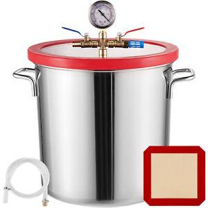 22.7 L Stainless Steel Vacuum Chamber kit 5 Gallon Degassing Urethanes