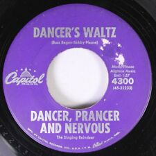 Christmas 45 Dance, Prance And Nervous - Dancer'S Waltz / The Happy Reindeet On