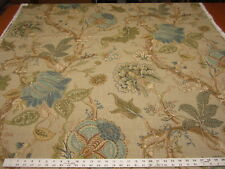 2 1/2 yards Fabricut Zoysia Green Tea upholstery and drapery fabric r2563