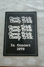 Cheap Trick 1979 Dream Police Tour Concert Program Booklet With A Backstage Pass