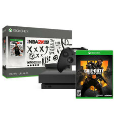Xbox One X 1Tb NBA 2K19 Bundle + Call of Duty: Black Ops 4