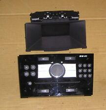VAUXHALL ASTRA MK5 GLOSS BLACK RADIO CD UNIT WITH COMPATIBLE DISPLAY - 13255555