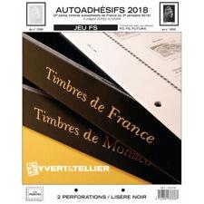 Jeux FS France timbres autoadhésifs 2010-2018 intégrale.