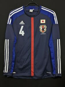2012-13 JAPAN  Home Jersey Soccer Shirt O(Japan Size) *Excellent* Keisuke HONDA