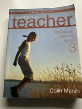 Becoming a Teacher: Knowledge, Skills and Issues by Colin Marsh Paperback, 2004