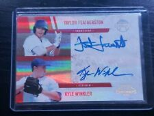 2011 CONTENDERS Winning Combos Taylor Featherston Kyle Winkler #'d /149 holofoil