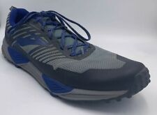 brooks cascadia 13 Running Shoes Size 12 Men's Blue/Black/Gray