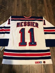 "MARK MESSIER SIGNED STEINER SPORTS COA 1994 NY RANGERS JERSEY ""94 CUP"" CCM"