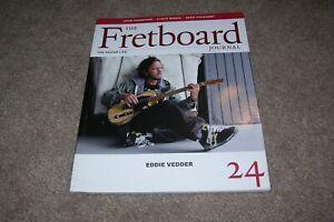 Fretboard Journal Guitar Life, #24, Eddie Vedder