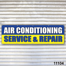 AIr Conditioning Service Banner A/C Sign Auto Truck Repair