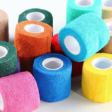 Self-adhesive Elastic Pets Wrap Bandages Vet First Aid Body Gauze Tape Stretch