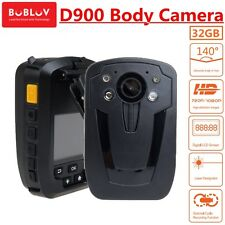 32GB D900 Police Boby Worn Camera Security Record Body Cam Pocket Night Vision