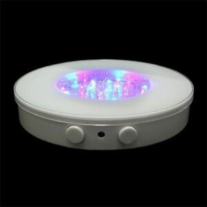 Multi-Color LED Light Base for Vases, Battery Operated 6 inch diameter