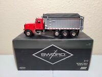 Peterbilt 357 East Dump Truck - Red - Sword 1:50 Scale Model #SW2042-R New!