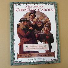 christmas A TREASURY PF CHRISTMAS CAROLS, Jerry Silverman