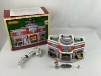 Lemax 25406 CRUISIN' CAFE Jukebox Junction Christmas Village Building w Box