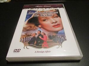 "DVD NEUF ""LA SCANDALEUSE DE BERLIN (A FOREIGN AFFAIR)"" Marlene DIETRICH / WILDER"