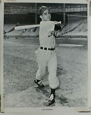 Luis Aparicio Chicago White Sox HOF Vintage 8x10 Baseball Photo
