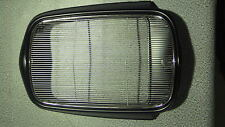 NEW STAINLESS STEEL GRILL AND METAL SURROUND FORD 32