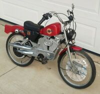 "Vtg Harley Davidson Sportster Roadmaster Childrens 20"" Bicycle Motorcycle w tag"
