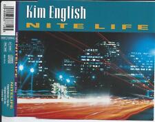 KIM ENGLISH - Nite life CDM 4TR Euro House 1994