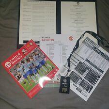 More details for manchester united v aston villa package programme menu +++ 25.09.21