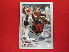 2013 Topps Hector Sanchez  silver matte baseball card  SERIAL NUMBERED 9 OF 10