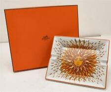 HERMES Porcelain Sun Ashtray Home Decor Tray Plate NEW IN BOX