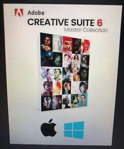 CS6 Master Collection FULL VERSION - Windows/MAC