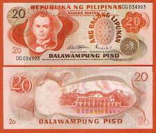 P155     Philippines/ Philippinen   20  Piso   1970       UNC