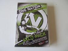 ONE NATION BRISTOL 2007 CD PACK DRUM & BASS JUNGLE RAVE COMMIX NICKY BLACKMARKET
