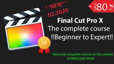 Final Cut Pro X > Complete Course > Beginner to Expert > FULL > 2020 > MAC
