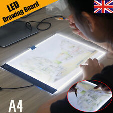 A4 Artist LED Drawing Board Tracing Table Stencil Tattoo Display Light Box KU