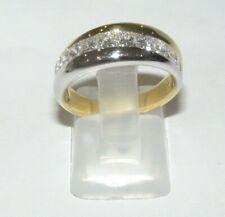 DAMIANI anello oro 18kt diamanti prinsess gold diamond rings bagues en or