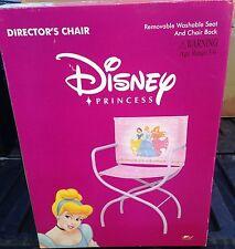 Disney Princess - Directors Chair - Brand New - 2002 - New - Directors Chair -