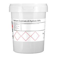 Calcium Sulphate di-Hydrate 99% (Gypsum) - 1KG *Home Brewing*