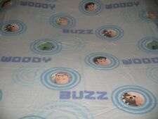 Vintage Disney Toy Story Full Flat and Twin Fitted Sheet Set & Pillowcase  Pixar