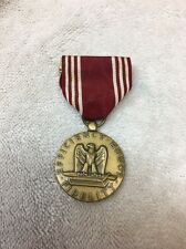WW II Medal Efficiency Honor Fidelity For Good Conduct
