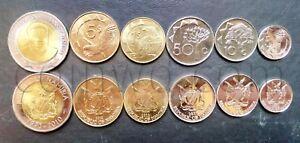 Namibia 6 coins set 2010-2012 (#3907)