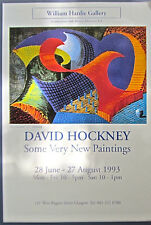 David Hockney Poster Reprint  The Eleventh VN Paintings Bright Bold Colors