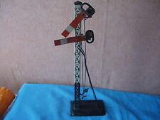 412 I Antique Bing Pc Railway Traffic Signal Litho Tin Toy