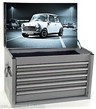 700x400MM WHITE CLASSIC MINI - TOOL BOX STICKER