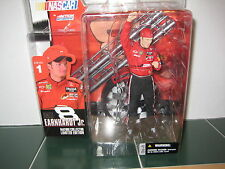 McFarlane Dale EarnHardt Jr. Figure Mature Collector NASCAR Series 1 NO Glasses